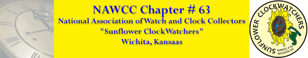 NAWCC-63 National Association of Watch and Clock Collectors, Wichita Kansas